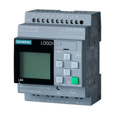 6ED1052-1MD08-0BA0-LOGO! 12/24RCE, logic module